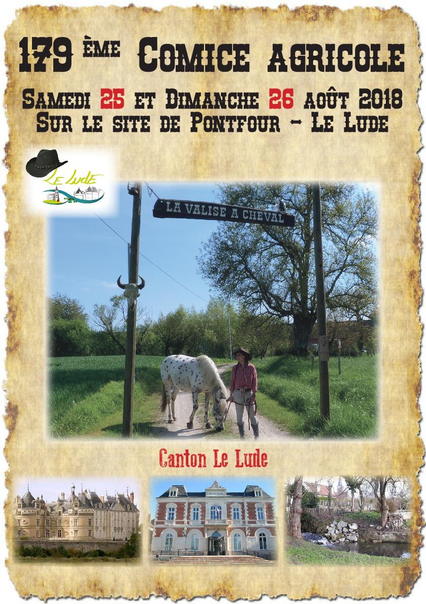 Calendrier Comice Agricole Sarthe 2019.Comice Agricole Le Lude La Ville Du Lude